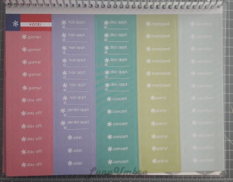 Erin Condren Life Planner sticker